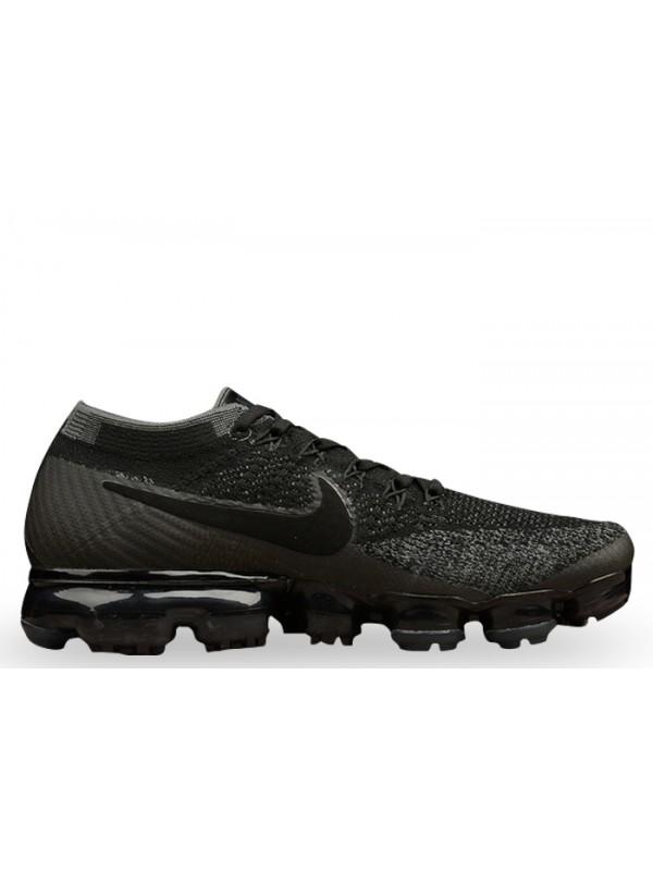 Cheap Nike Air Vapormax Flyknit Black Dark Grey