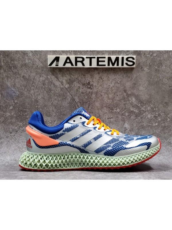 Cheap Adidas Alphaedge 4D Blue Orange
