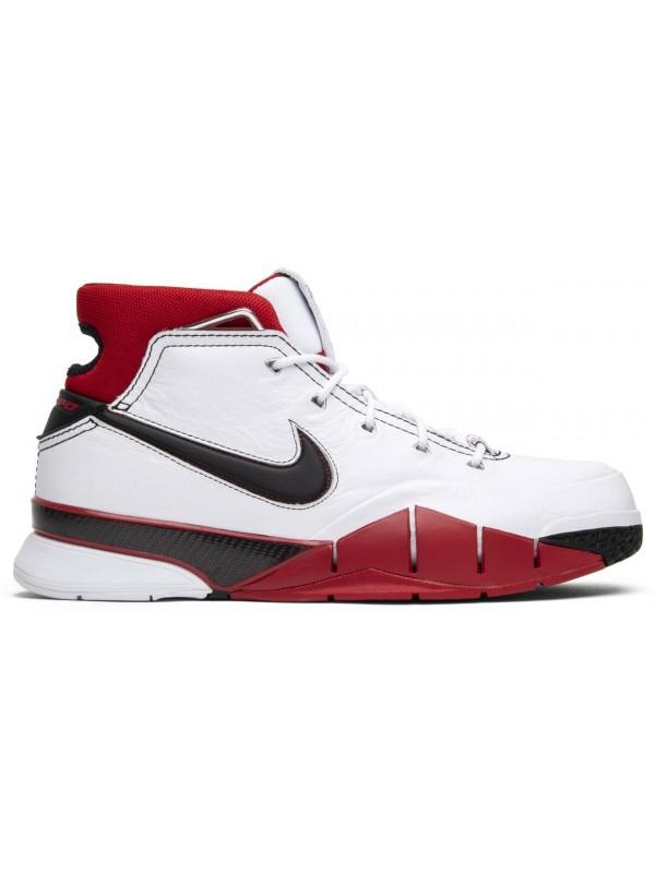 Cheap Nike Kobe 1 Protro White Black Red (All Star)