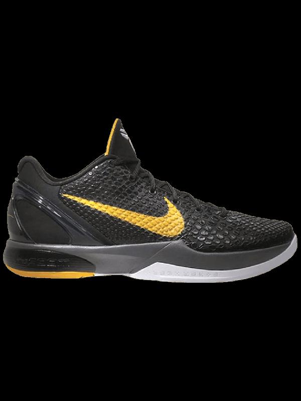 Cheap Nike Zoom Kobe 6 Black Del Sol