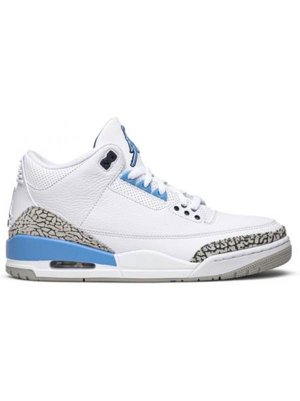 Cheap Air Jordan Shoes 3 Retro UNC (2020)