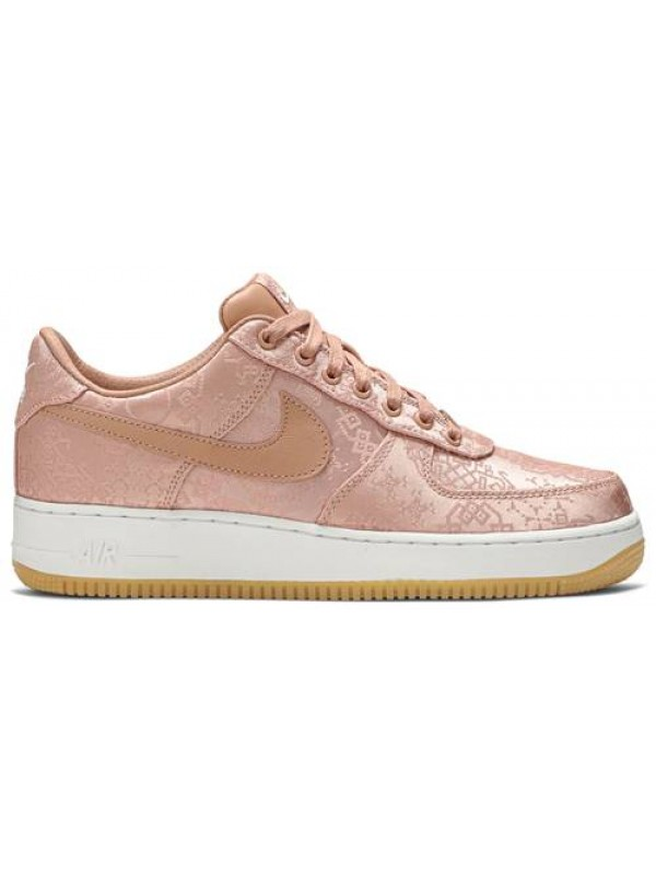 Cheap Nike Air Force 1 Low Clot Rose Gold Silk