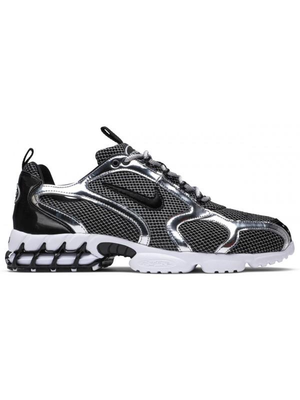 Cheap Nike Air Zoom Spiridon Cage 2 Stussy Pure Platinum
