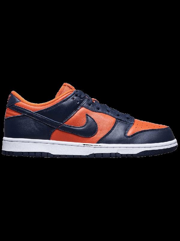 Cheap Nike Dunk Low SP Champ Colors University Orange Marine (2020)