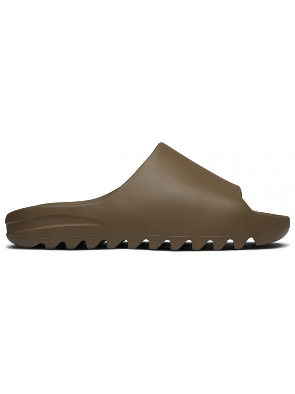 Cheap Adidas Fake Yeezy Slide Earth Brown(NO SHOES BOX)