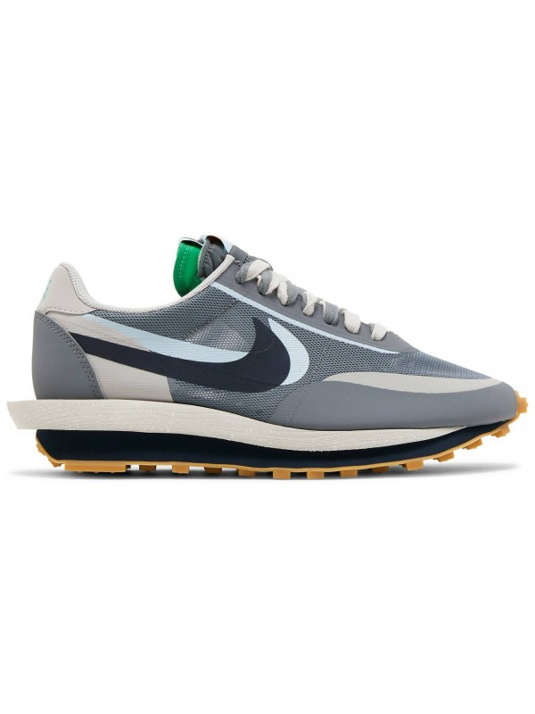 Cheap Nike LD Waffle Sacai CLOT Kiss of Death 2 Cool Grey