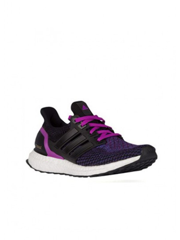 Adidas Ultra Boost Core Black Shock Purple Online
