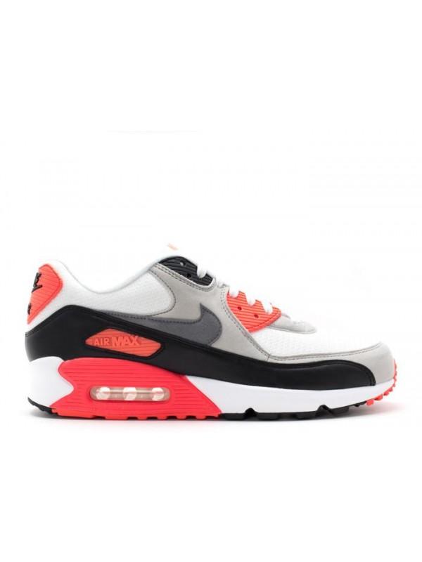 Cheap Air Max 90 White Grey Black Shoes