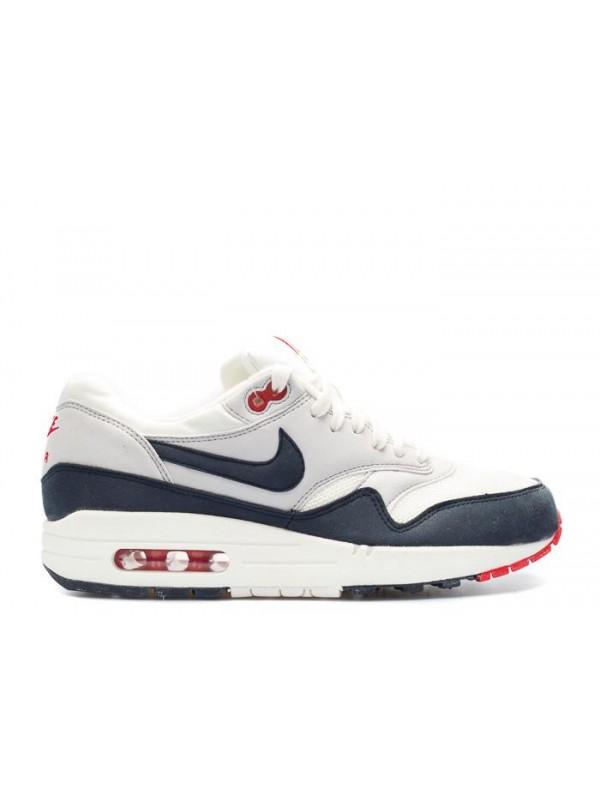Air Max 1 Gray Red Black White OG Shoes