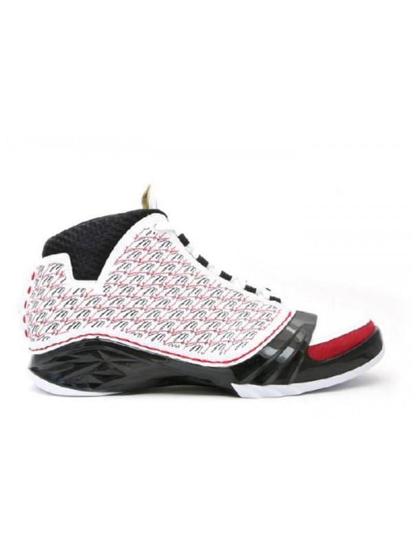 Cheap Air Jordan Shoes 23 White Black Varsity Red