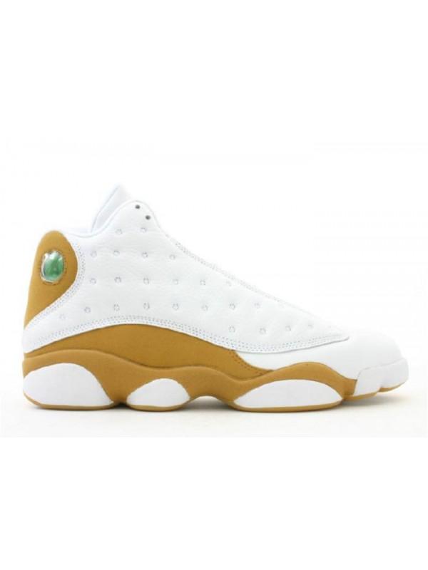 Cheap Air Jordan Shoes 13 Retro White Wheat
