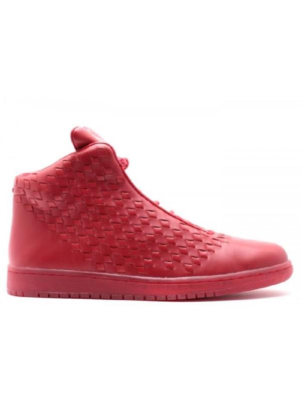 Cheap Air Jordan Shoes Shine Red