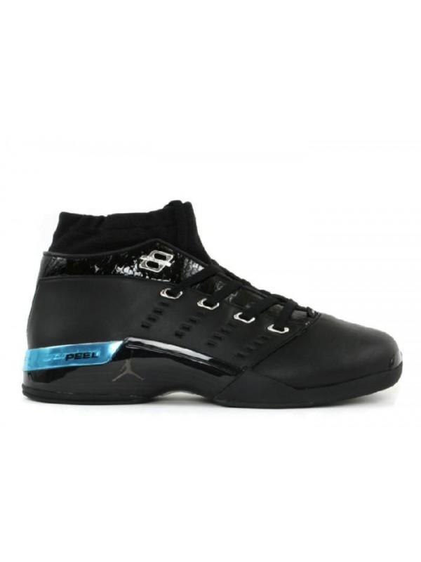 Cheap Air Jordan Shoes 17 Low Black Chrome
