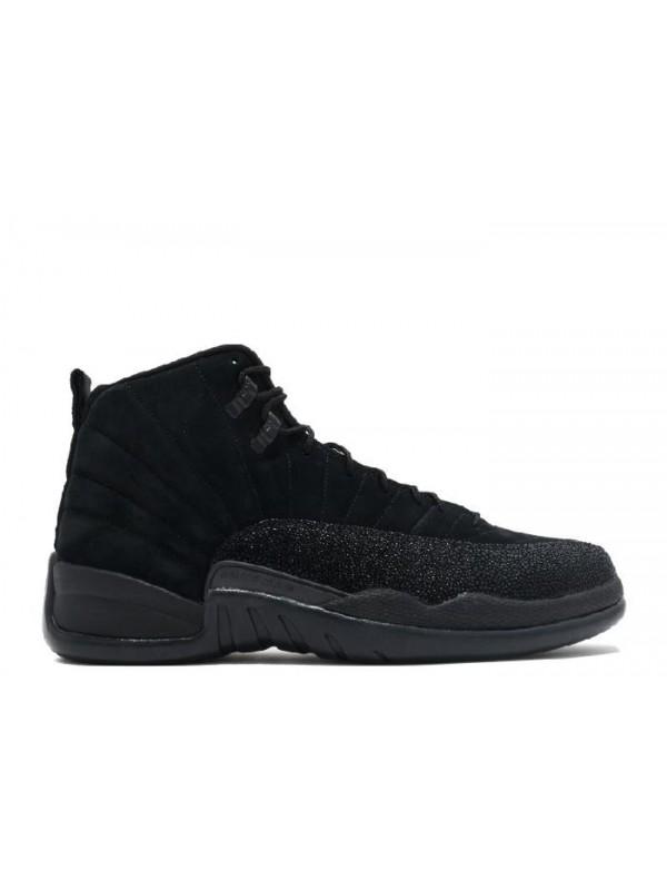 Cheap Air Jordan Shoes 12 Retro OVO Black Metallic Gold
