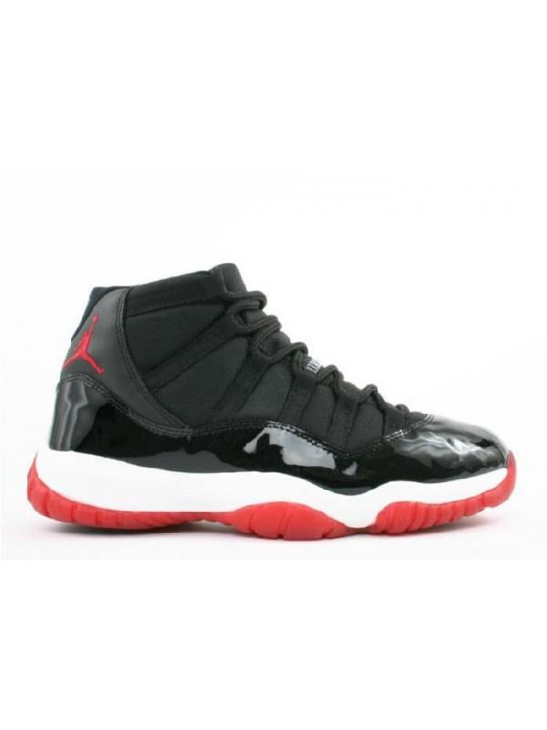 Cheap Air Jordan Shoes 11 Retro Black Varsity Red White