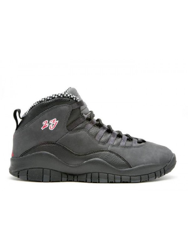 Cheap Air Jordan Shoes 10 Retro Black Dark Shadow