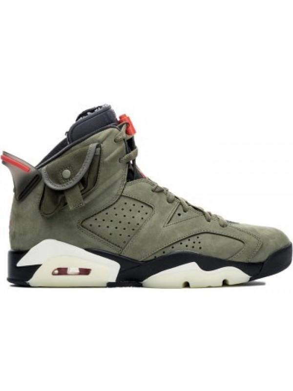 Cheap Air Jordan Shoes 6 RETRO TRAVIS SCOTT