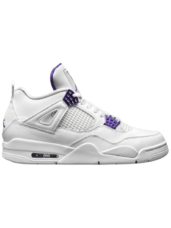 Cheap Air Jordan Shoes 4 Retro Metallic Purple