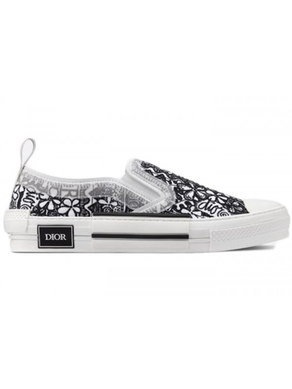 Cheap 1ior And Shawn B23 Slip On Black White Embroidery