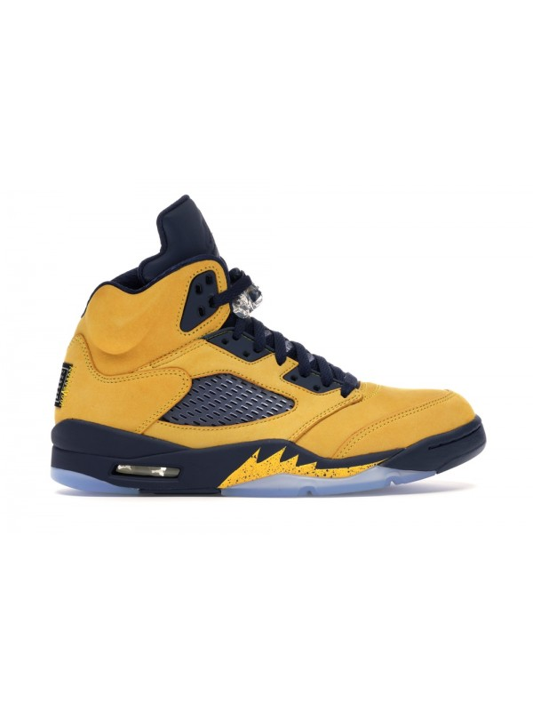 Cheap Air Jordan Shoes 5 RETRO MICHIGAN (2019)