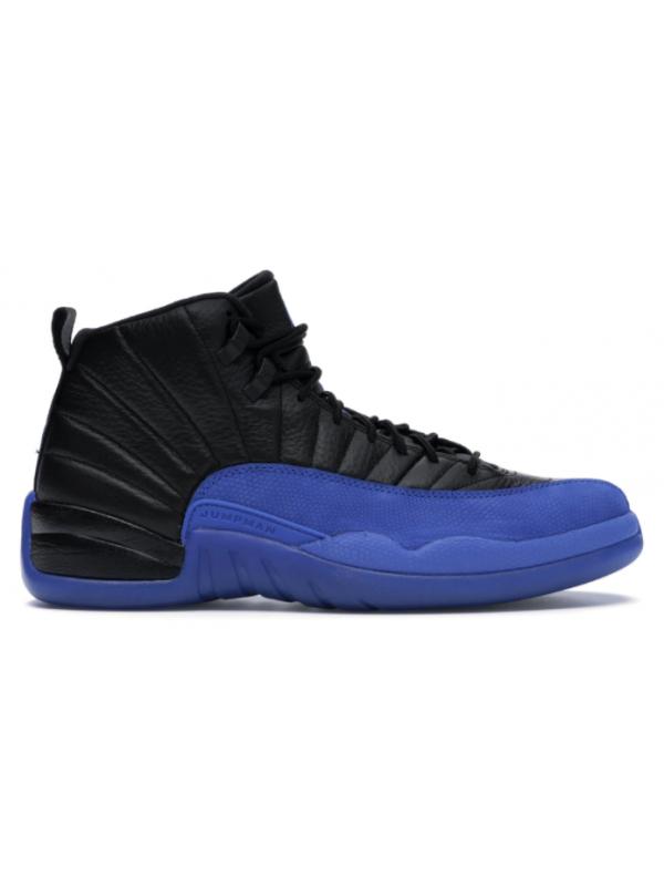 Cheap Air Jordan Shoes 12 Retro Black Game Royal
