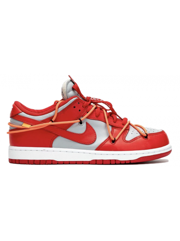 Cheap Nike Dunk Low Off-White University Red