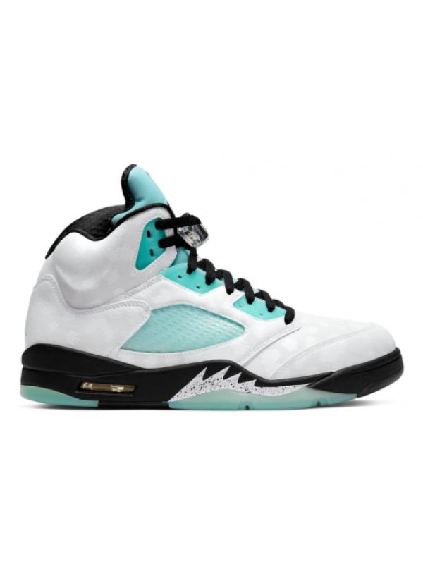 Cheap Air Jordan Shoes 5 Retro Island Green